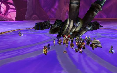 Void Reaver goes down