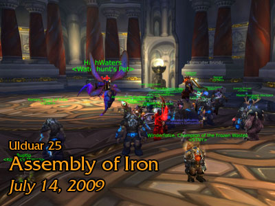Assembly of Iron